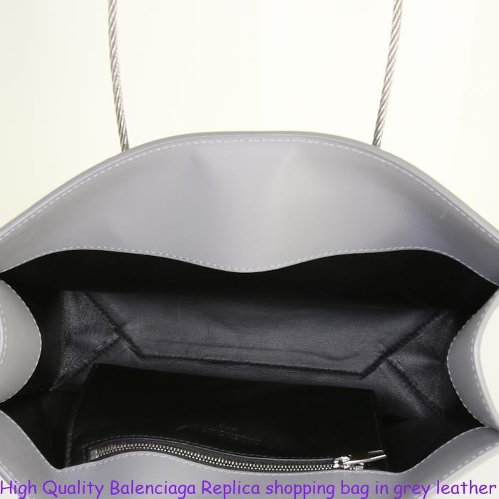 High Quality Balenciaga Replica shopping bag in grey leather. £870.00.  Condition   Very good condition 30b0e66d27c98