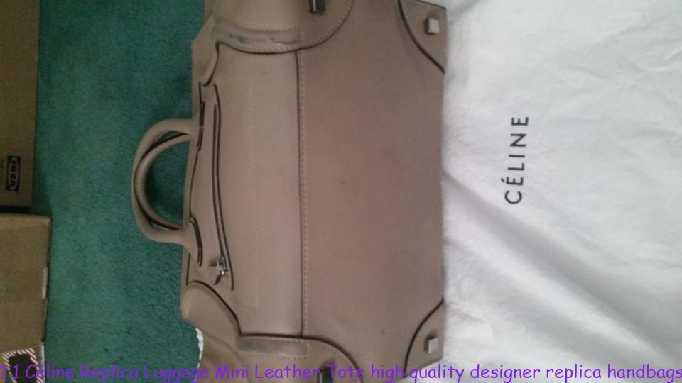 1 1 Céline Replica Luggage Mini Leather Tote high quality designer replica  handbags wholesale 6ea6ea1a6af79