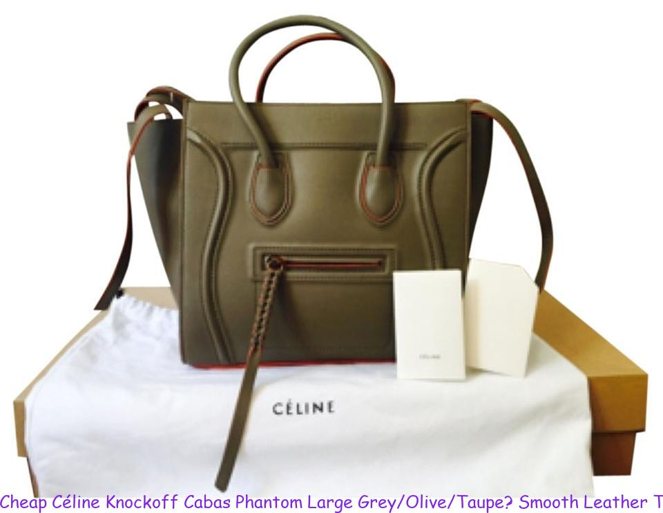 super cute choose clearance hot sale Cheap Céline Knockoff Cabas Phantom Large Grey/Olive/Taupe? Smooth Leather  Tote fake designer bags china