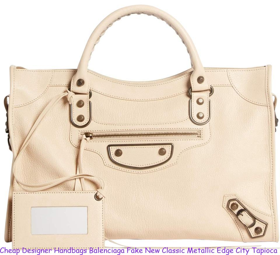 d8a4345e203 Cheap Designer Handbags Balenciaga Fake New Classic Metallic Edge City  Tapioca Beige Leather Tote balenciaga replica arena sneakers for sale