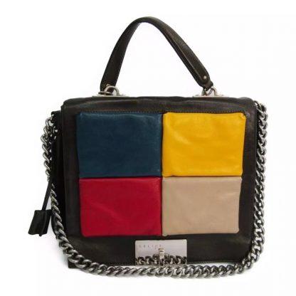 6bb18d048416 Cheap Designer Handbags Céline Knockoff Multi Color Purse Brown Satchel  celine big bag