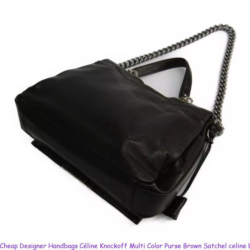 a42599b80a23 Cheap Designer Handbags Céline Knockoff Multi Color Purse Brown Satchel  celine big bag